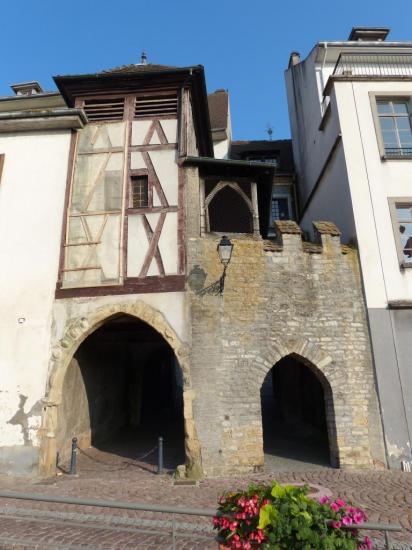 Altkirch - Vieille Porte de Ville - façade nord