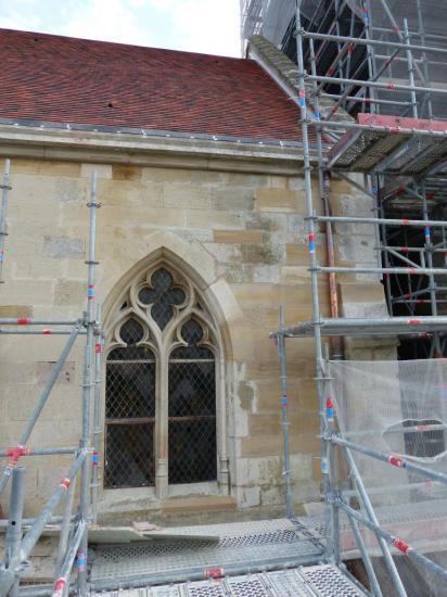 Etain - église Saint-Martin - restauration des couvertures