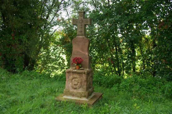 Croix de chemin - St-Michel-sur-Meurthe (88)