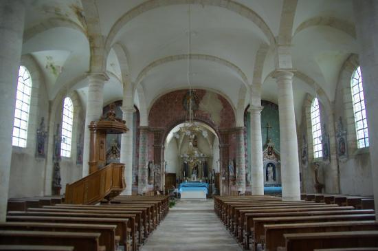 Eglise St-Julien - Ligny-devant-Dun (55)