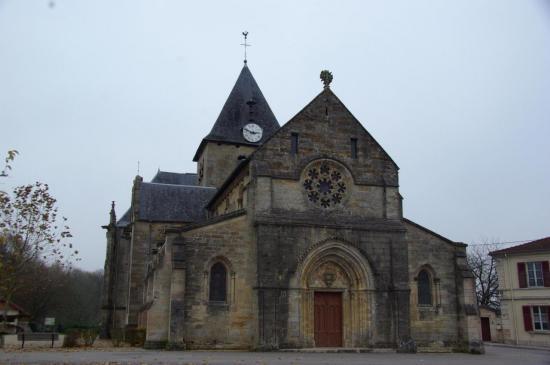 Mognéville - Eglise Saint-Rémy - façade ouest