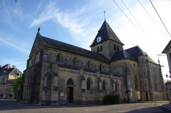 Mognéville - Eglise Saint-Rémy - façade sud