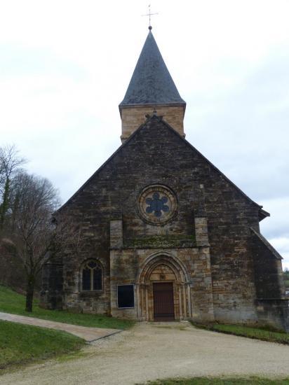 Trémont-sur-Saulx - Eglise Saint-Menge - façade ouest
